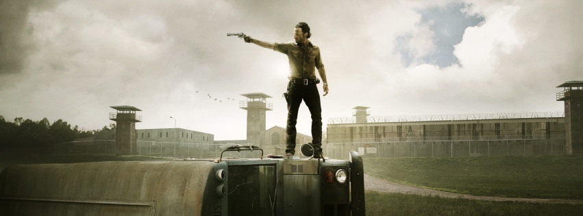 Rick z Walking Dead